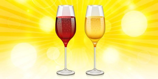 Wine glass icon PSD