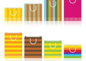 Colorful Gift Bag Vectors