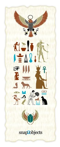 Free Vector Egyptian Elements