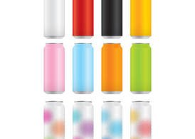 Soda Cans Vector Pack 2