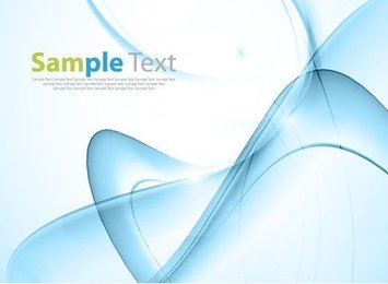 Blue Abstract Design Background