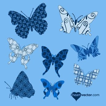 Butterfly Pack with Pattern Wings