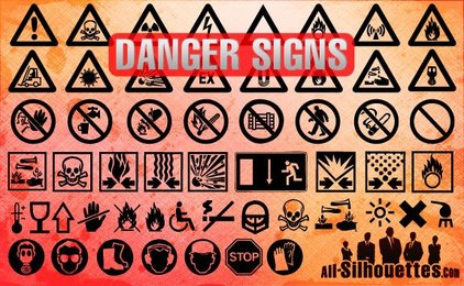 54 Danger Signs