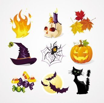 Halloween Vector Icons (Free)