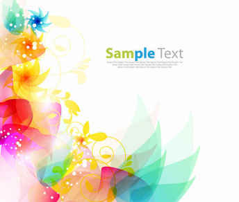 Free Floral Abstract Background