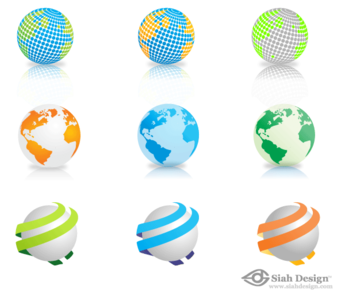 9 Free Vector Globes Download