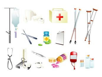 Medical supplies, one of
