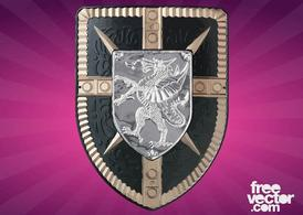 Shield With Dragon
