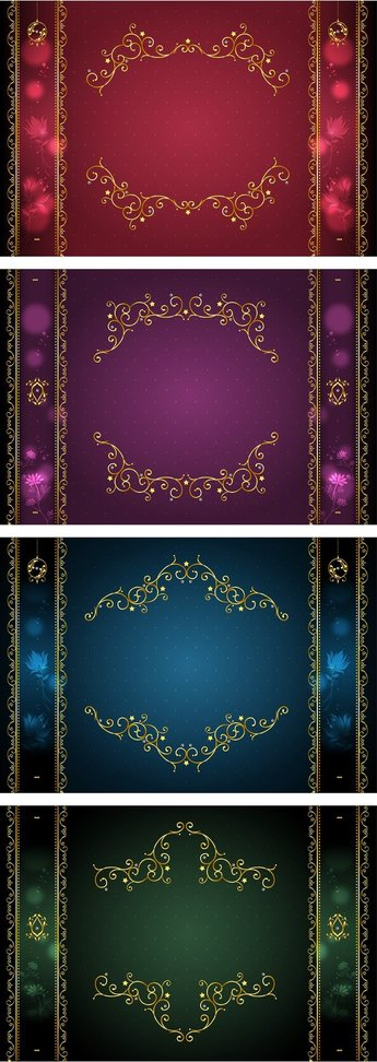 Classical Gold Lace Border