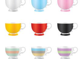 Colorful Mug Vectors