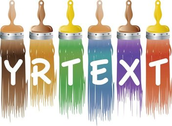 Different Colors Of Paint Brush 03