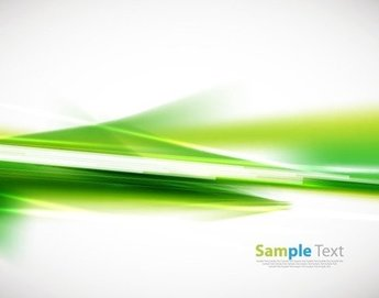Abstract Green Background Vector Illustration 3