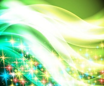 Colorful Twinkle Star Christmas Background