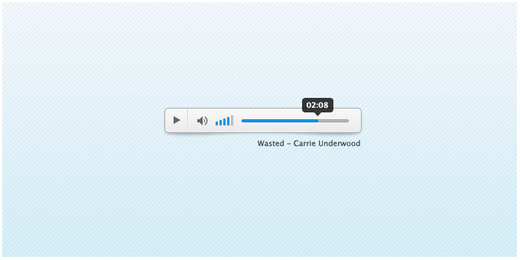 CW Audio Player PSD