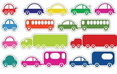 Toy Vehicles Vectors