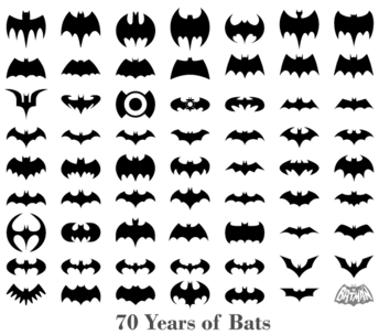 70 Years of Bats - Free Bats Silhouettes