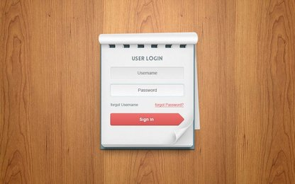 Psd User Login Notebook