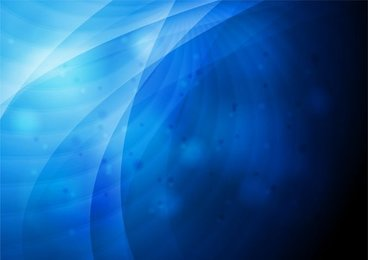 Vector Graphic of Abstract Blue Background