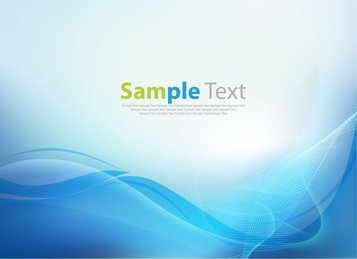 Abstract Blue Business Technology Wave