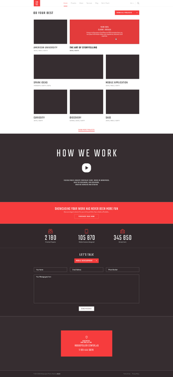 SAGE — Free PSD Template