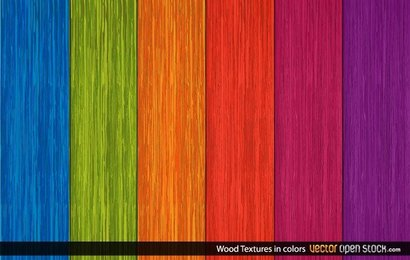 Colorful Wooden Texture Background Vector Free Download