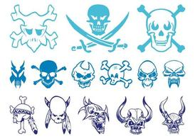 Skulls Graphics Set