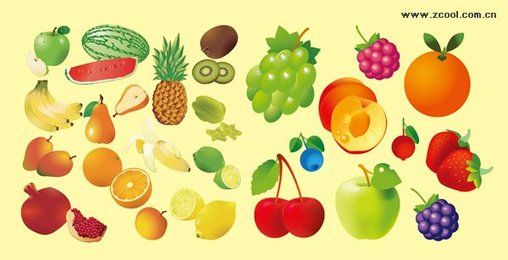 A variety of fruits and
