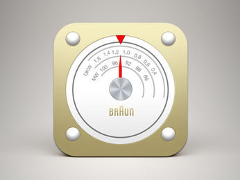 Braun Radio iOS Icon