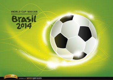 Soccer World Cup 2014 background