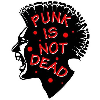 PUNK IS NOT DEAD VECTOR GRAPHICS.eps