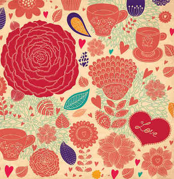 Flower Vector Backgrounds