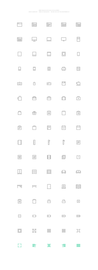 Pixelvicon Icon Set