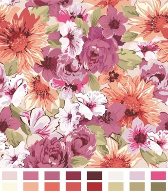 Color Pattern Background