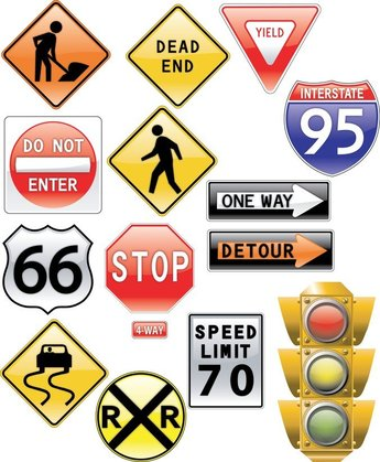 Theme Of Vector Signs