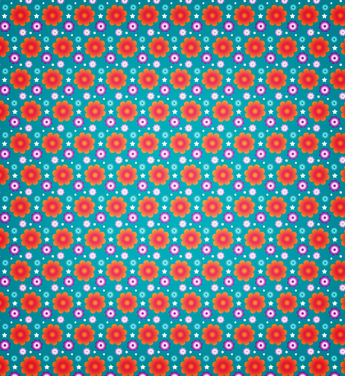 A Vibrant Summer Seamless Vector And Photoshop Pattern