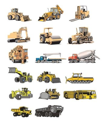 Vector material for heavy vehicles