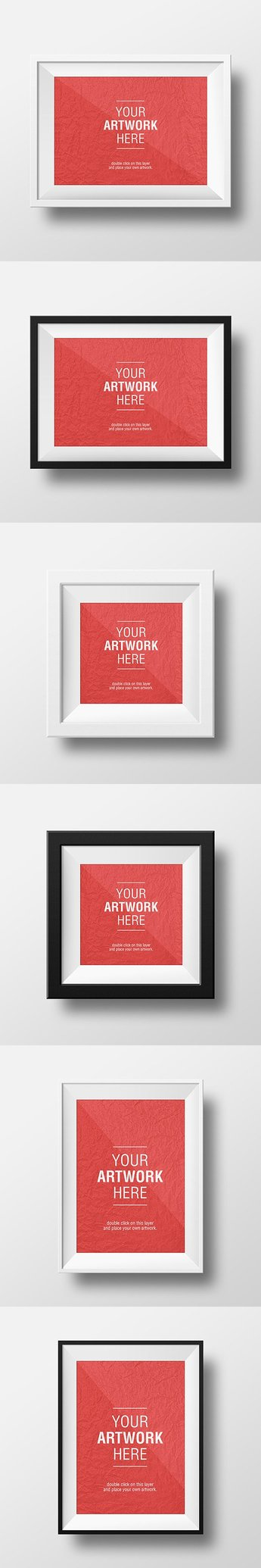 Artwork Frame PSD MockUps
