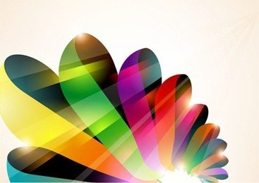 Abstract Colorful Vector Background 2