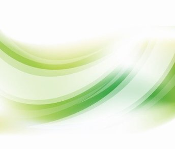 Abstract Green Curve