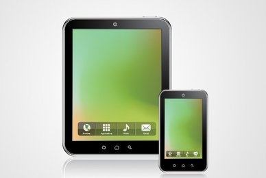 Tablet PC Computer Vector Graphics (Free)