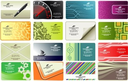 Free Vector Business Card Templates Free Vip Best