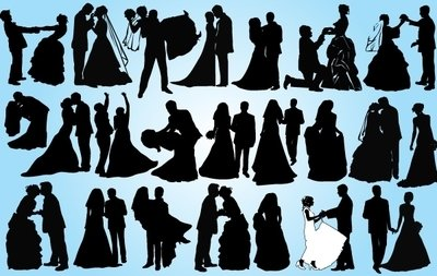 Married Couple Pack Silhouette