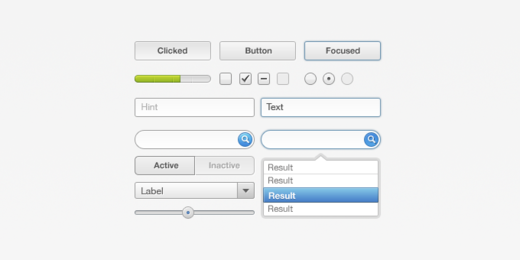 UI-Element Set