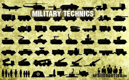 53 Icons of military technics