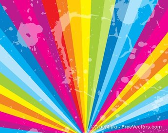 Rough Texture Rainbow Background