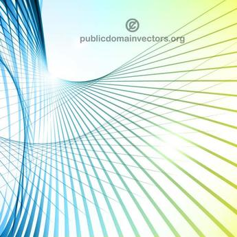 COLORED SWIRLING STRIPES VECTOR GRAPHICS.eps