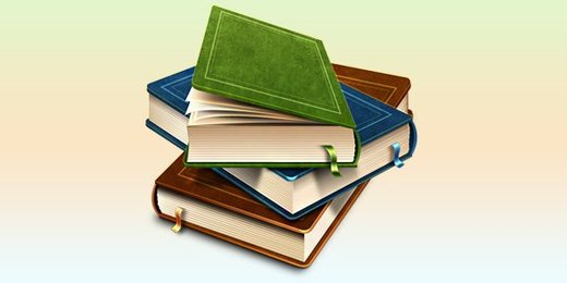Books icon (PSD)