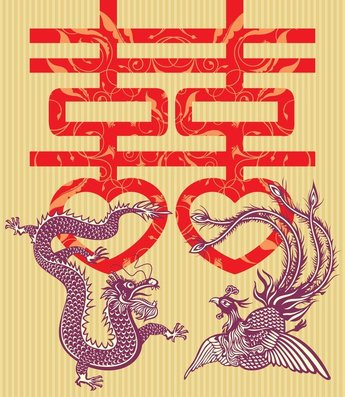 Double Happiness Dragon
