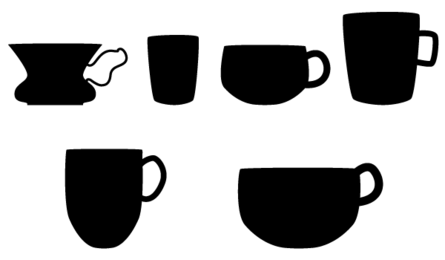 Coffee Cup Silhouette Vector Free