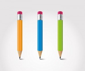 Free Vector Pencil illustration